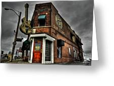 Memphis - Sun Studio 002 Greeting Card by Lance Vaughn