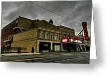 Memphis - The Orpheum 001 Greeting Card by Lance Vaughn