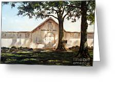 Merchants Hall Greeting Card by Lee Piper
