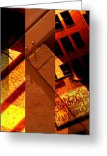 Merged - Orange City Greeting Card by Jon Berry OsoPorto