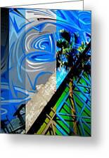 Merged - Painted Blues Greeting Card by Jon Berry OsoPorto