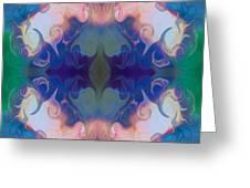 Merging Fantasies Abstract Pattern Artwork By Omaste Witkowski Greeting Card by Omaste Witkowski