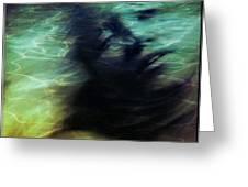 Mermaid Longing Greeting Card by Gun Legler