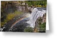 Mesa Falls Greeting Card by Robert Bales