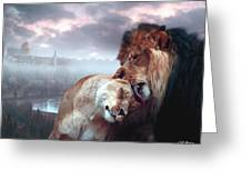 Messiah and Israel Greeting Card by Bill Stephens