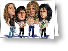 Metallica Greeting Card by Art
