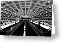 Metro Greeting Card by Greg Fortier