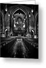Metropolitan United Church 1 Toronto Canada Greeting Card by Brian Carson