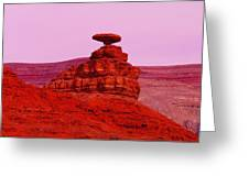 Mexican Hat  Greeting Card by Jeff Swan