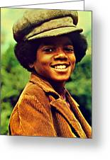 Michael Jackson Greeting Card by Movie Poster Prints