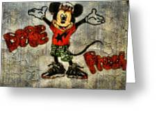 Mickey Of 11 Greeting Card by Travis Hadley