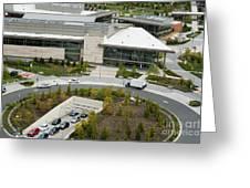 Microsoft Corporate Headquarter's West Campus Redmond Wa Greeting Card by Andrew Buchanan via Latitude Image