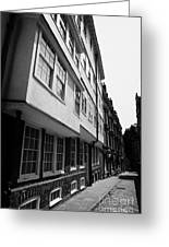 middle temple lane London England UK Greeting Card by Joe Fox