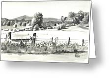 Midsummer View Out Route Jj   No I101 Greeting Card by Kip DeVore