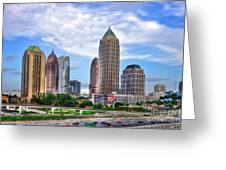 Midtown Atlanta Too Greeting Card by Reid Callaway