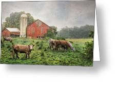Mifflintown Farm Greeting Card by Lori Deiter