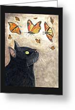 Migration Greeting Card by Angela Davies