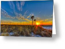 Miller Time Greeting Card by Marvin Spates