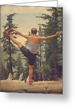 Mindbody Greeting Card by Laurie Search