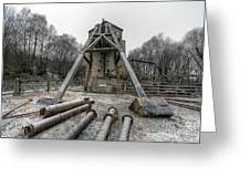 Minera Lead Mines Greeting Card by Adrian Evans