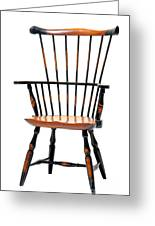 Miniature Windsor Armchair  Greeting Card by Olivier Le Queinec
