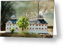 Miniatures Augustusburg Greeting Card by Heike Hultsch