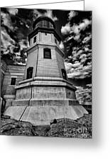 Minnesota Lighthouse Greeting Card by Todd Bielby