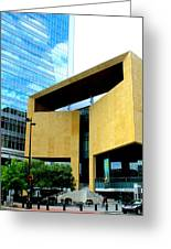 Mint Museum Charlotte Greeting Card by Randall Weidner