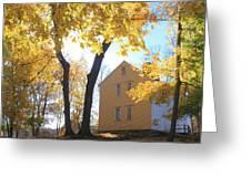 Minuteman National Historic Park Brooks House Greeting Card by John Burk