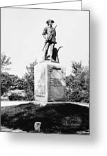 Minuteman Statue Greeting Card by Granger