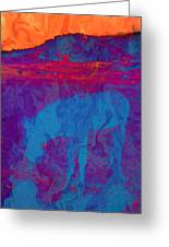 Mirage Greeting Card by Jan Amiss Photography