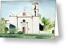 Mission San Luis Rey  Greeting Card by Kip DeVore