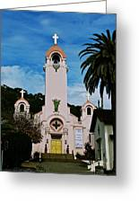 Mission San Rafael Greeting Card by Eric Tressler