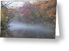 Mists Of Time Greeting Card by Bill Cannon