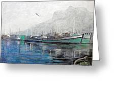 Misty Morning In Hout Bay Greeting Card by Michael Durst