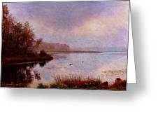Misty Perceptions Greeting Card by Pamela Phelps