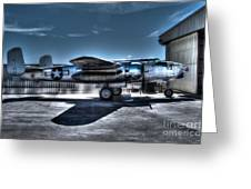 Mitchell B-25j Greeting Card by Tommy Anderson