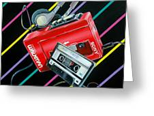 Mix Tape Greeting Card by Anthony Mezza
