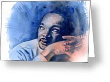 MLK Day Greeting Card by Ken Meyer jr