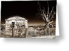 Mojave House Greeting Card by John Rizzuto