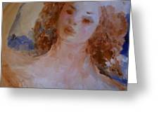 Mom near Jupiter Greeting Card by Laurie D Lundquist