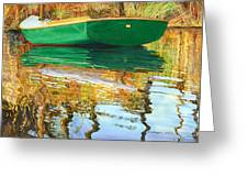 Moment Of Reflection Xi Greeting Card by Marguerite Chadwick-Juner