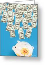 Money Saving Greeting Card by Michal Bednarek