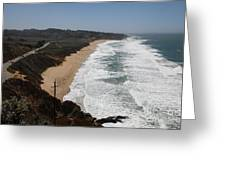 Montara State Beach Pacific Coast Highway California 5d22621 Greeting Card by Wingsdomain Art and Photography