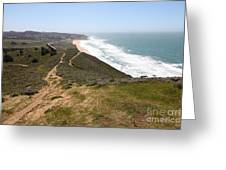 Montara State Beach Pacific Coast Highway California 5d22633 Greeting Card by Wingsdomain Art and Photography
