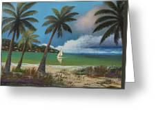 Montego Bay Greeting Card by Gordon Beck