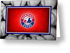 Montreal Expos Greeting Card by Joe Hamilton
