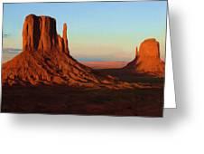 Monument Valley 2 Greeting Card by Ayse Deniz