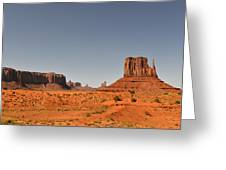 Monument Valley - Beauty Created By Nature Greeting Card by Christine Till