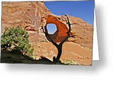 Monument Valley - Ear Of The Wind Greeting Card by Christine Till